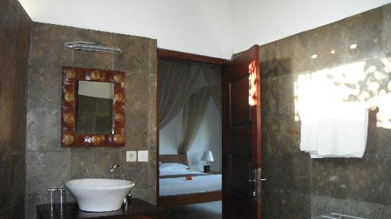 Uma Agung Villas: la chambre