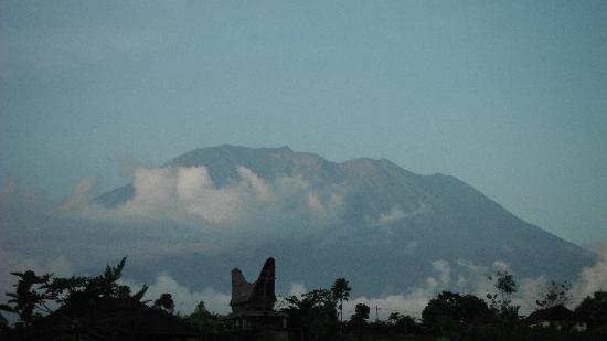 Uma Agung Villas: vue sur le mont Agung