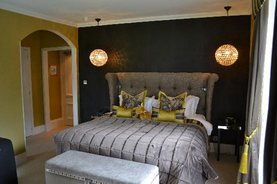 The Torridon: Our beautiful room