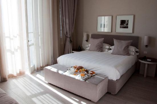 Villa Grey: Camera Deluxe con balcone