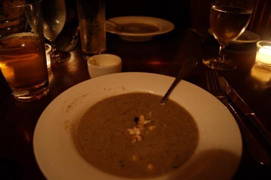 White Dog Cafe: Wild Mushroom Soup