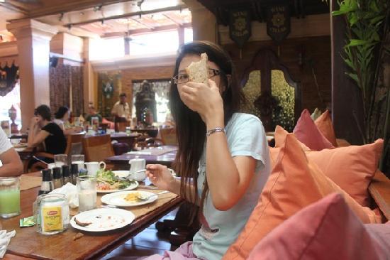 The Baray Villa: Yummy breakfast ...