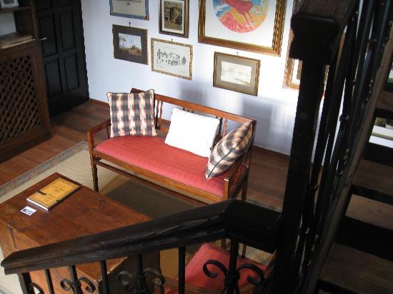 Casa Medievale del Mugnaio B&B: The sitting room of the suite