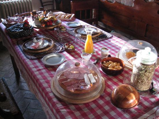 Casa Medievale del Mugnaio B&B: Breakfast for two