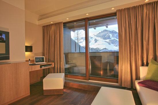Theresia Gartenhotel: Gartenhotel Theresia****S Suite mit Panoramablick