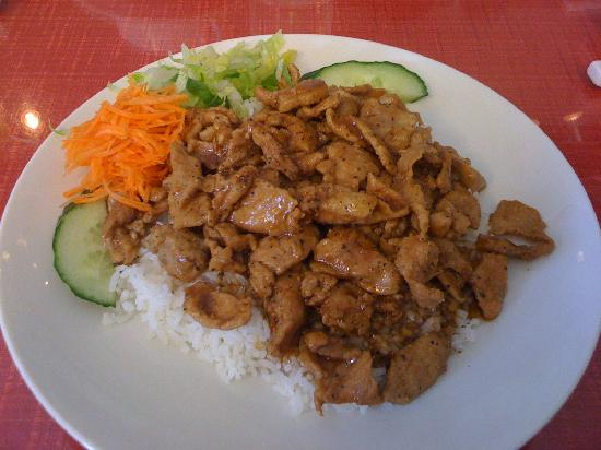 Red Satay Grille Rouge: Pepper pork (with extra veggies from All Day menu)