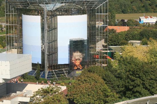 ฟูตูโรสโคป: Une vue dans haut