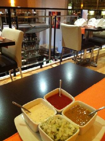 Aroma Asian Restaurant: Restaurant interior