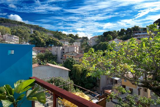 Quinta Azul Boutique Pousada: the beautiful santa teresa hills view from hotel