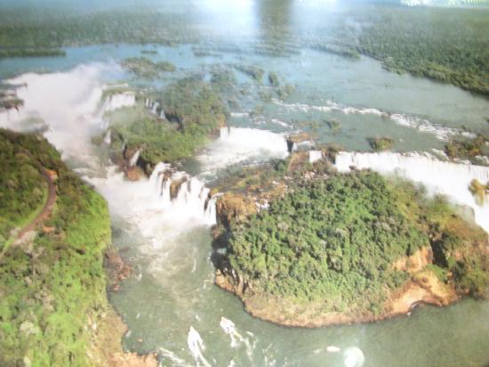 Cataratas del Iguazú: Desde el helicoptero.