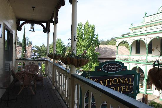 1859 Historic National Hotel: Balkon