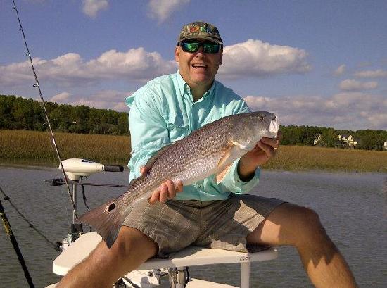 Carolina Backwaters Fishing Charters: Kendal & beautiful redfish