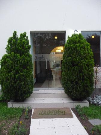 Entrance to El Tambo Hotel