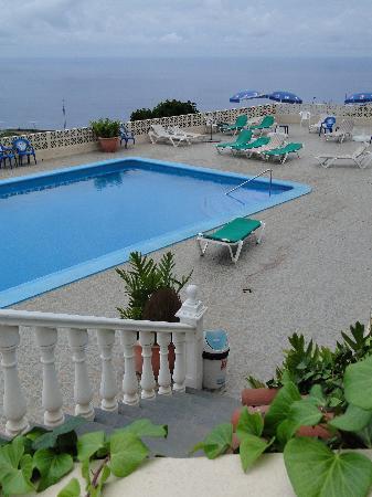 Landhotel Finca San Juan: der Pool (Terasse)