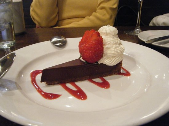 The Crown and Goose: Delcious desert