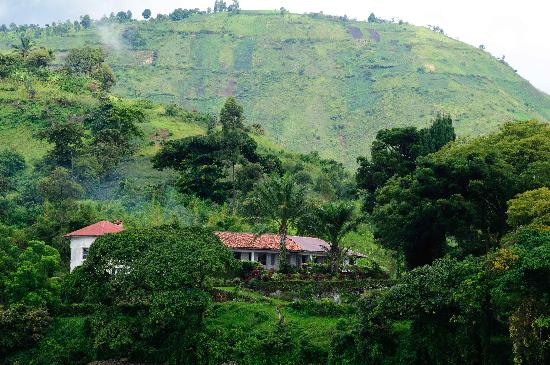 Lake Kivu: Old colonial house