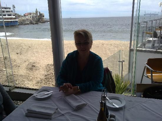Falls Galli Hotel: the ocean