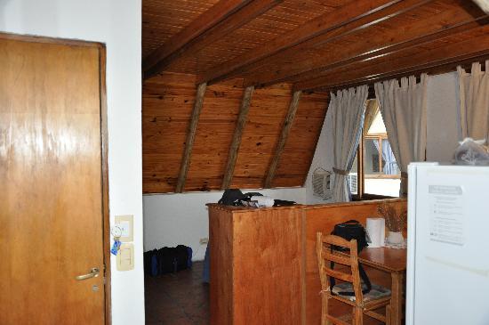 Torre Colon : Interior de la cabaña.