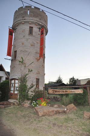 Torre Colon : Entrada a las cabañas