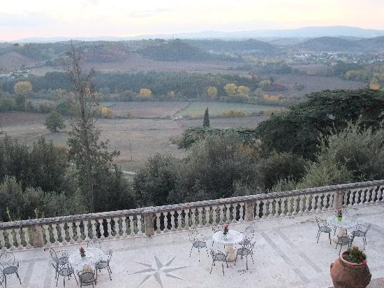 Villa dei Lecci: View from the Villa