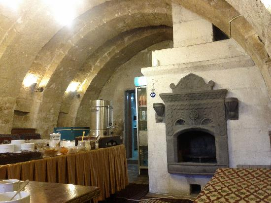 Cappadocia Palace : a view of the breakfast room