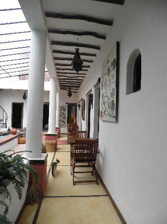 Cap Sim House: terrasse des chambres