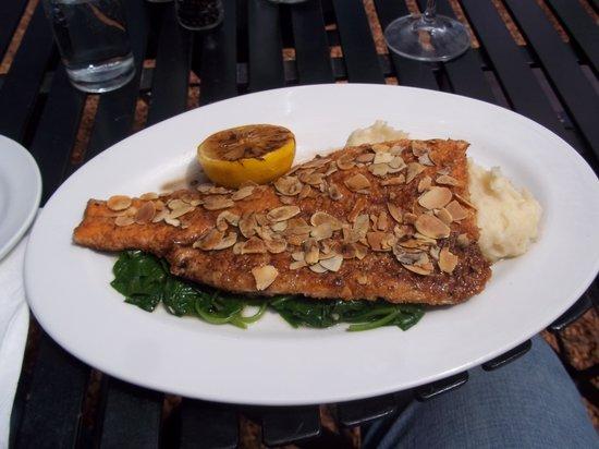 Simon's Restaurant : Trout almandine