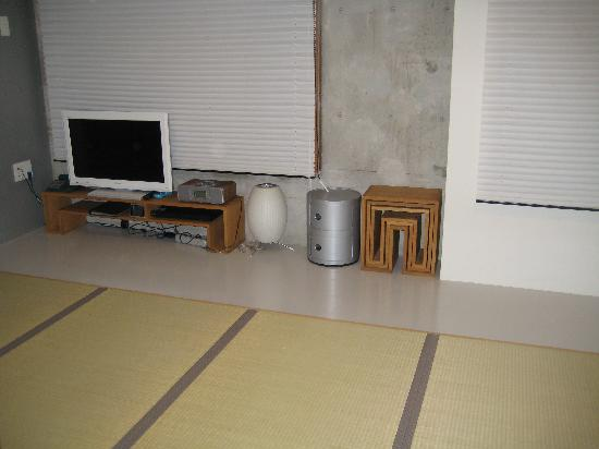 City Hotel N.U.T.S: Tatami mats in the room.