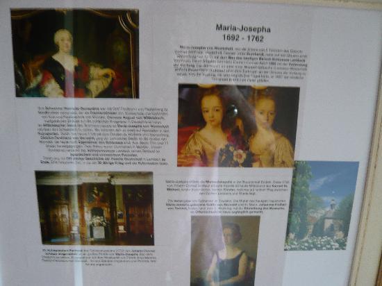 Schloss Lembeck: Beschreibung bei den Hotelzimmern - Erläuterung der Namen der Zimmer
