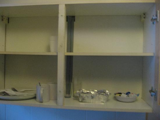 Camden Apartments London: matériel de cuisine !