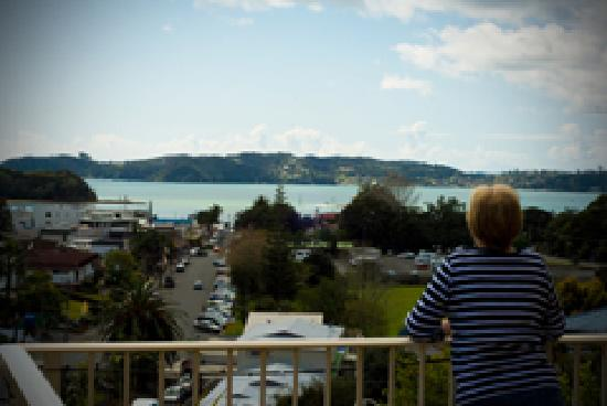 Absolute Bliss Apartments: Bed and Breakfast view