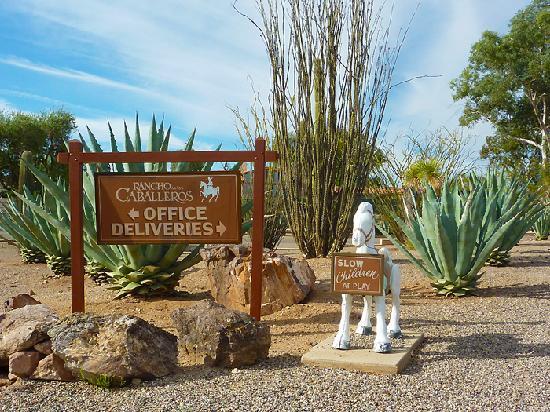 Rancho de los Caballeros: property
