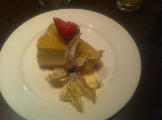 Mussi's: pineapple and coconut cheesecake