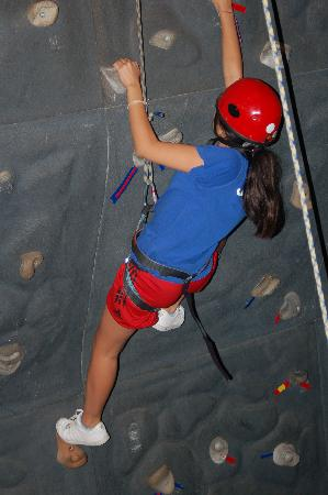 Silver Bay YMCA - Conference and Family Retreat Center: Climbing Wall at Silver Bay YMCA
