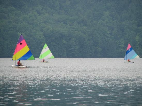 Silver Bay YMCA - Conference and Family Retreat Center: Sailing at Silver Bay YMCA