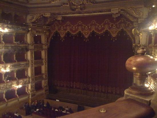 Brescia, Italia: palco