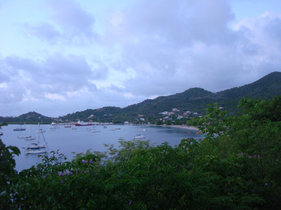 Carriacou Island, Grenada: Vista panorámica de Tyrrel Bay