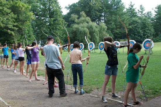 Silver Bay YMCA - Conference and Family Retreat Center: Archery at Silver Bay YMCA