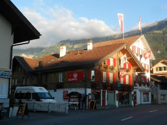 Balmer's Hostel: Main office