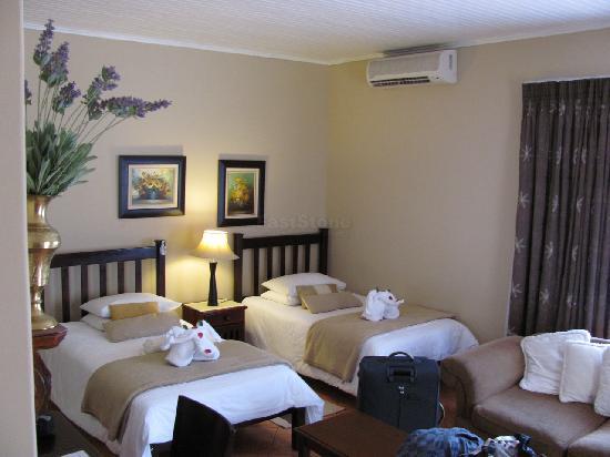 AfricaSky Guest House: Zimmeransicht