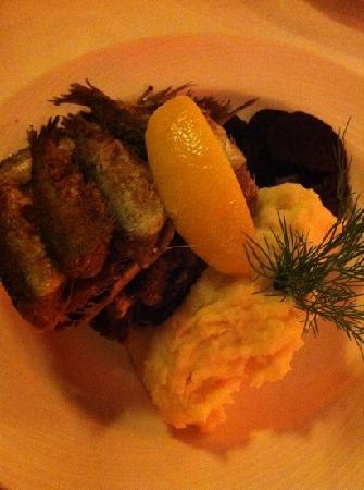 Kaarna : pan fried herring ... yum