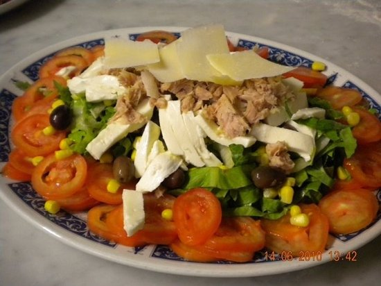 Ristorante Pizzeria Torino : insalatina leggera