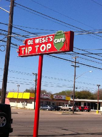 Tip Top Cafe: You know you are here