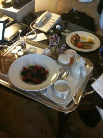 Park Hyatt Toronto : petit déjeunes