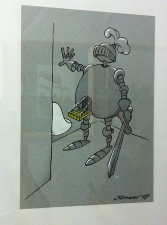 Musee de la caricature et du cartoon Vianden