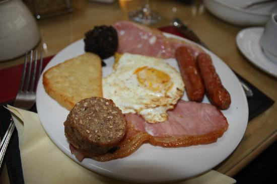 Robin Hill B&B: Irish Breakfast!