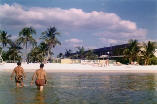 Outrigger Beach Resort: back in the old days