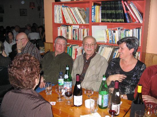Auberge des Appalaches: L'an dernier, 2010, en compagnie de vieux amis