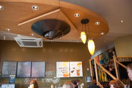 Starbucks: Inside the store