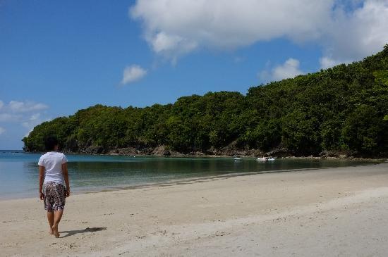 Dakak Park & Beach Resort: Dakak Beach